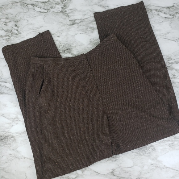 Eileen Fisher Pants - Eileen Fisher I Brown Dress Pants